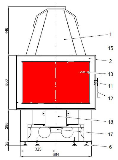 Haas+Sohn Exquisit 182.18 Sichtscheibe